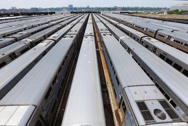 Manhattan Subway Trains
