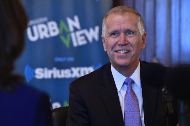 Sen. Thom Tillis - (Photo by Larry French/Getty Images for SiriusXM)
