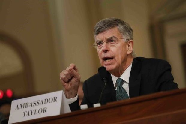 Ambassador Taylor - Andrew Harrer/Bloomberg