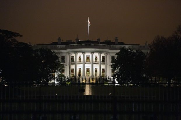 The White House - Photographer: Stefani Reynolds/Bloomberg