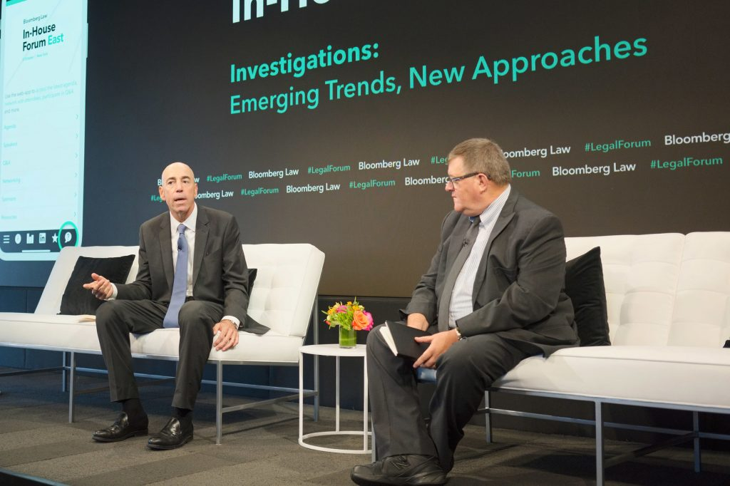 Steven Peikin at Bloomberg Law's In-House Forum East