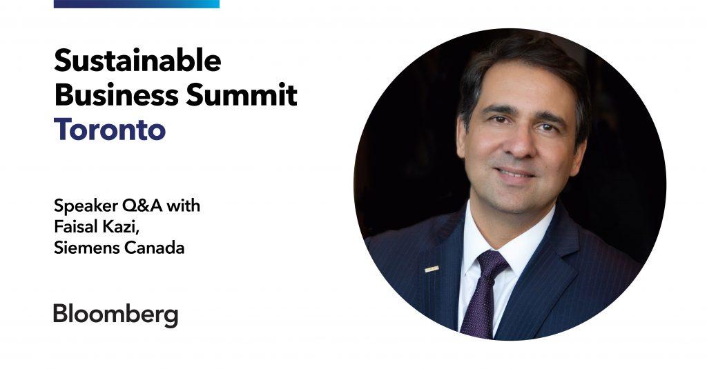Faisal Kazi Sustainable Business Summit Q&A