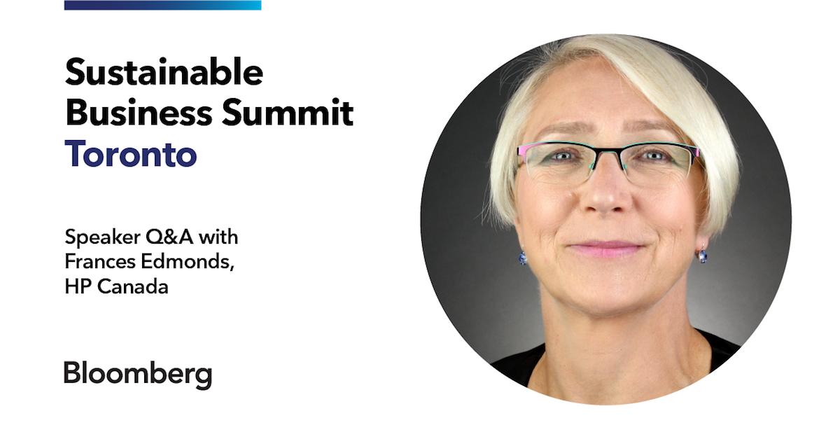 Sustainable Business Summit Frances Edmonds