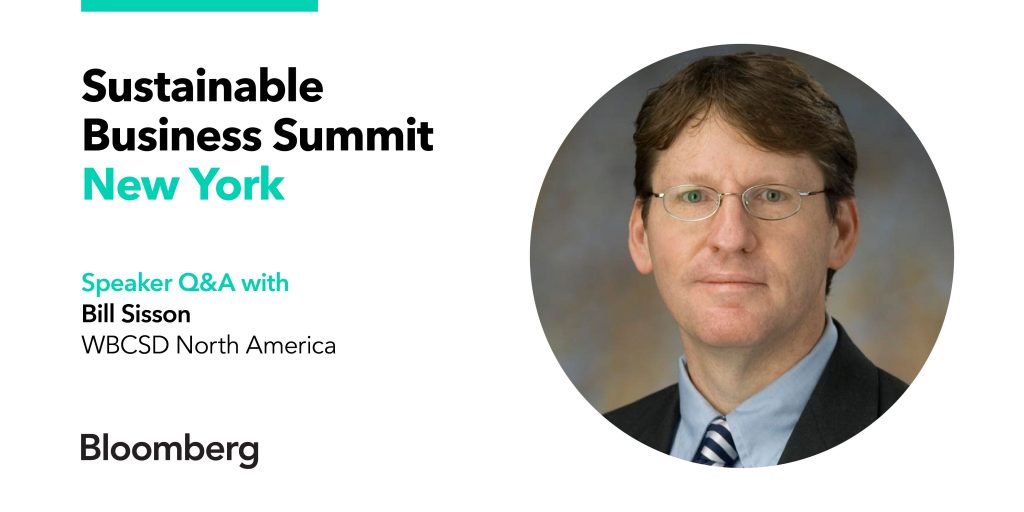 Sustainable Business Summit Bill Sisson Q&A New York