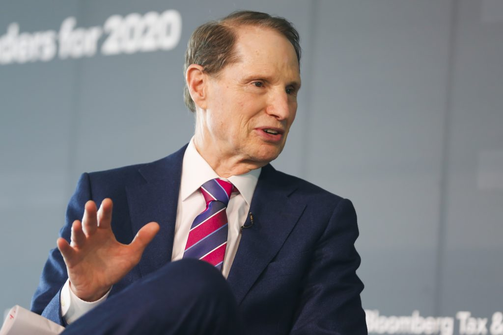 Senator Ron Wyden at the Bloomberg Tax & Accounting Leadership Forum