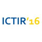 Logo for ICTIR