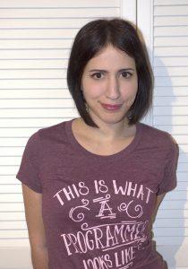 Marianna Polatoglou, Co-Chair of the Python Guild