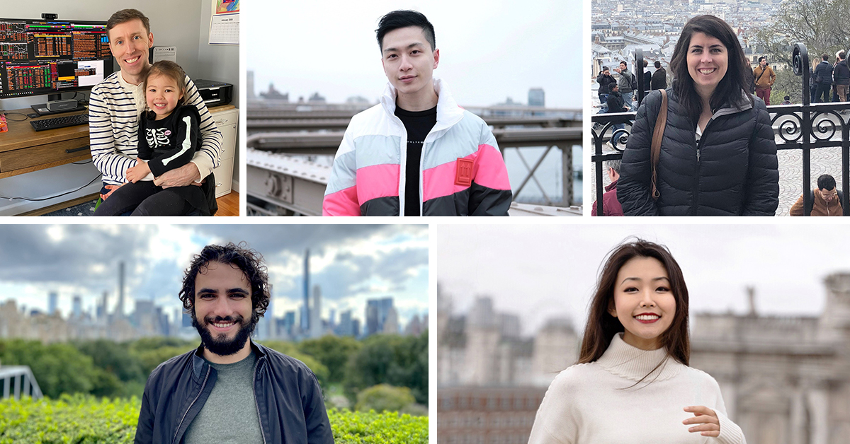 Sell-Side Engineering: Peter Levesque, Kevin Yufei Chen, Katie Keenan, Alessandro Incerto, and Angela Liang