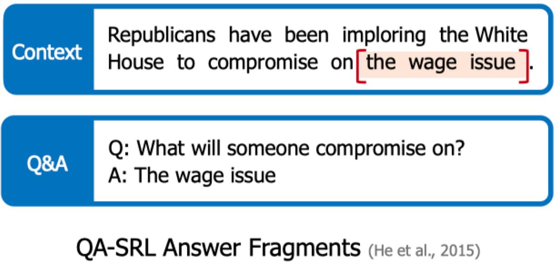 QA-SRL Answer Fragments