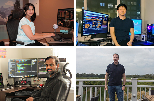 DataHub Engineering: Gauri Ranganathan, Luke Ahn, Shain Mathews, and Ryan Leslie