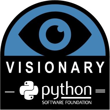 Python Software Foundation - Visionary Sponsor logo