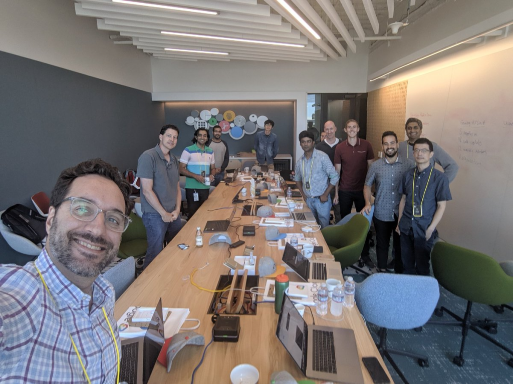 KFServing contributors gathered together for a micro-summit during the Kubeflow Contributor Summit 2019 in Sunnyvale, CA.
