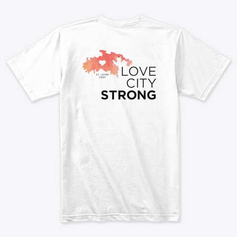 Love City Strong T Shirt