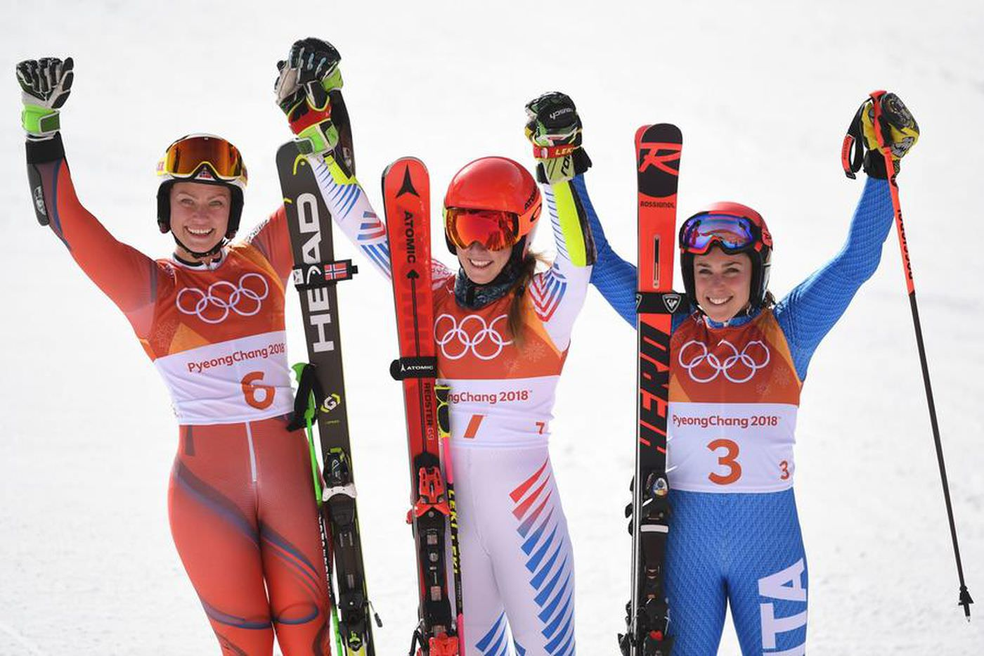 Giant slalom medalists