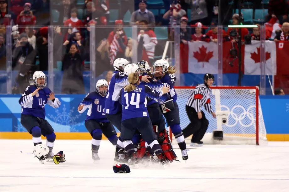 US Olympic Women's Hockey Team