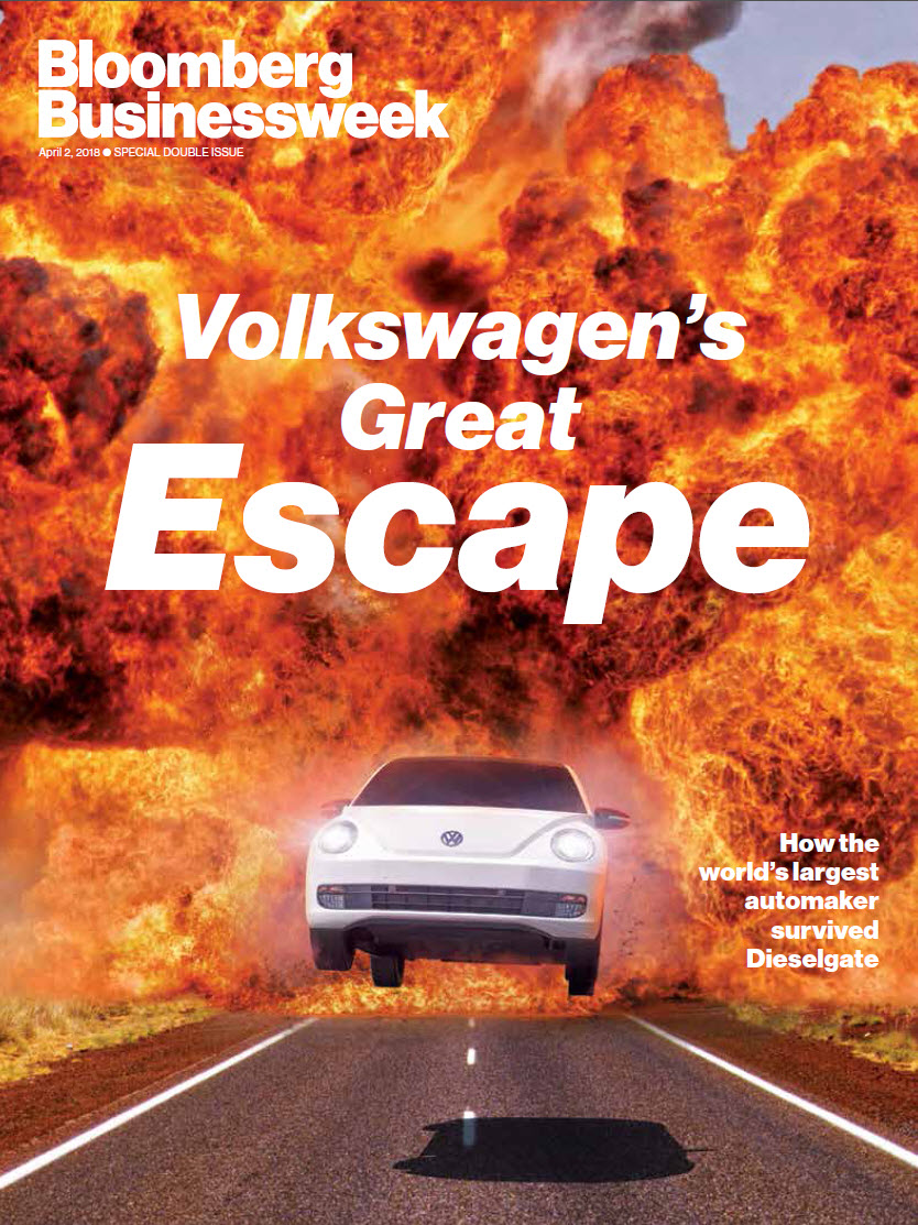 Bloomberg Businessweek VW Cover