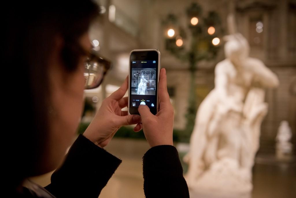 at the Bloomberg Instameet at the Metropolitan Museum of Art. (Craig Warga Photography)