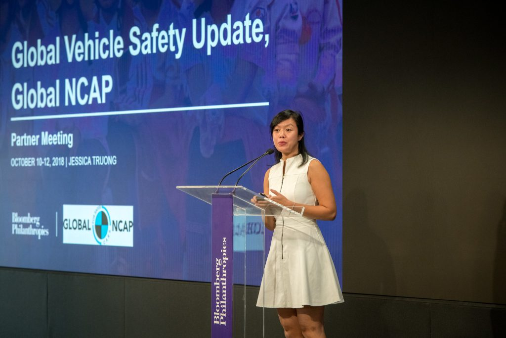 Jessica Truong at 2018 Global Road Safety Meeting at 731