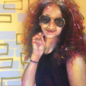 Portrait by Flex Maldonado. Image courtesy of the artist.
