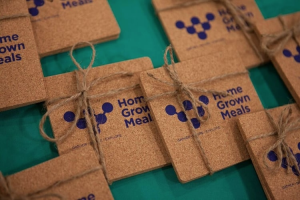 ArtHouse gifts for Home Grown Meal participants. Photo by Sara Pooley.
