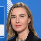 Her Excellency Federica Mogherini, Vice President of the EU Commission, High Representative of the EU for Foreign Affairs and Security Policy