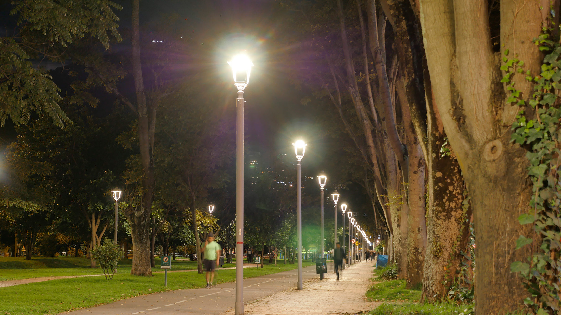 Public Lighting in Bogotá