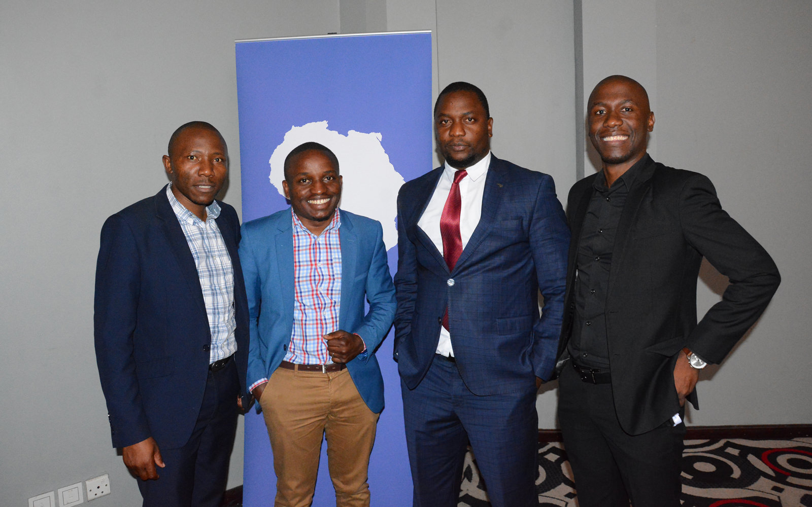 Reporters at the BMIA Journalism Training Program delegate orientation launch in Lusaka, Zambia.