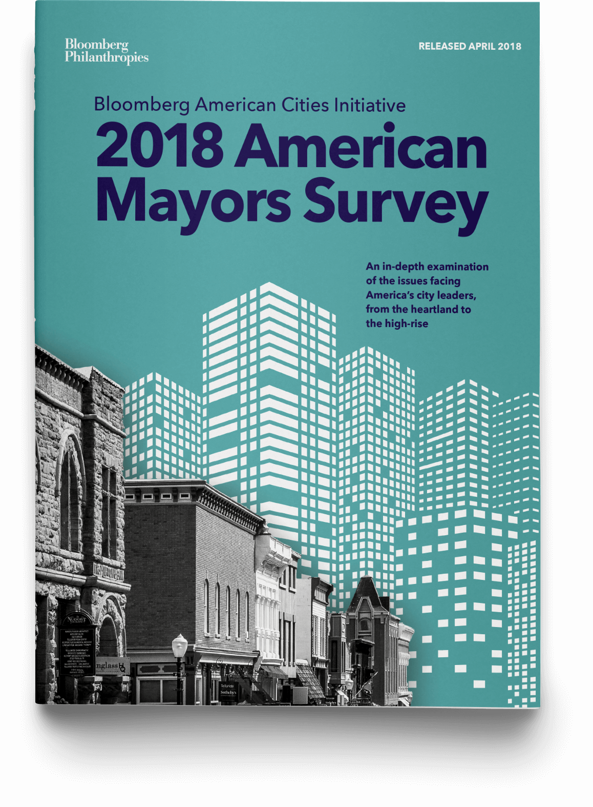 The Cover of the 2018 American Mayors Survey Report