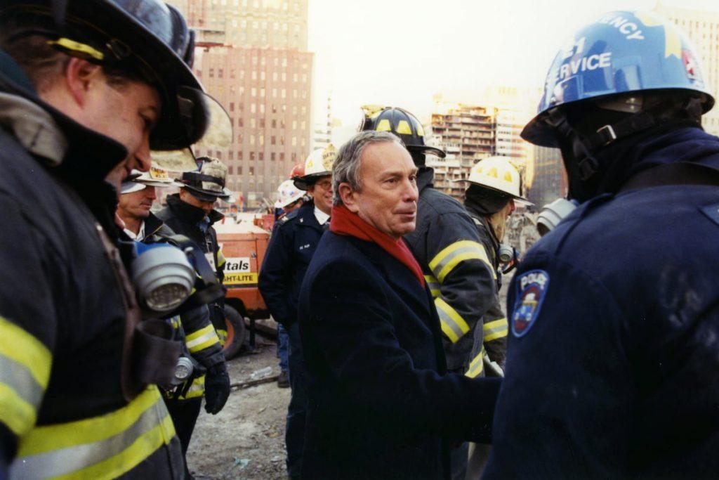 Mike Bloomberg at Ground Zero