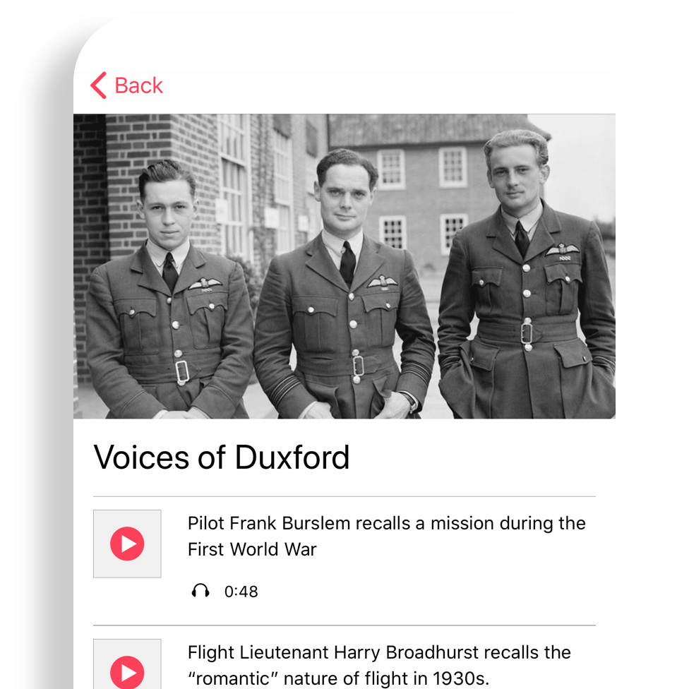 Voices of Duxford