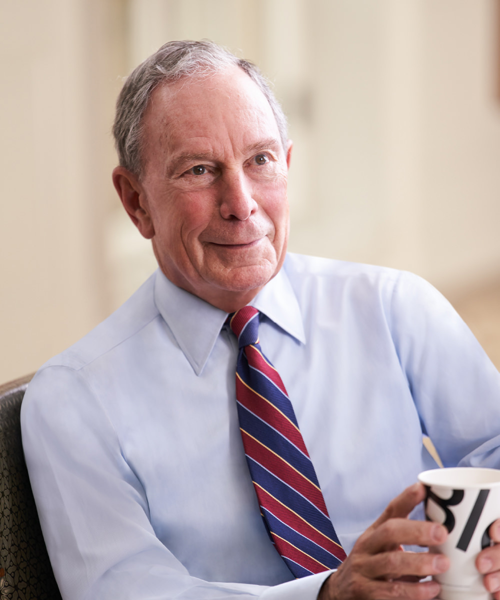 Michael R. Bloomberg  bio photo
