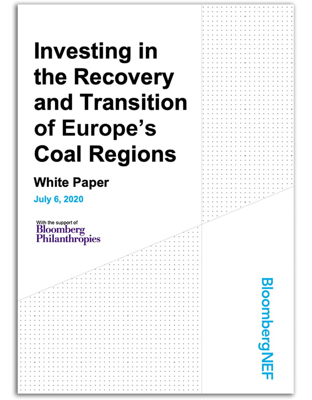 Investing in the Recovery and Transition of Europe's Coal Regions