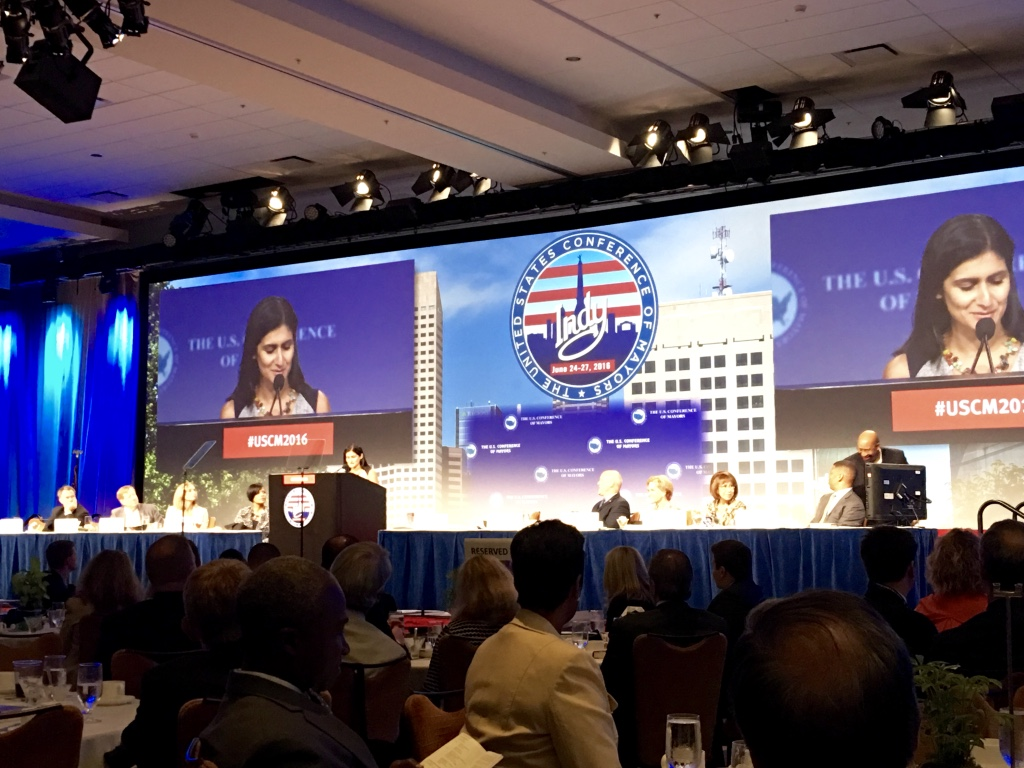 WWC Executive Director Simone Brody, at USCM