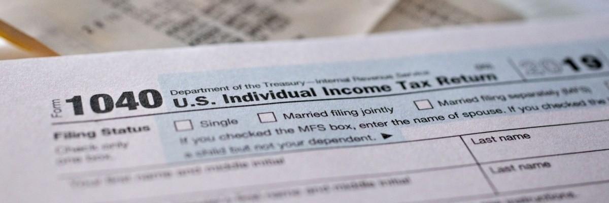 1040 US individual Income Tax Return