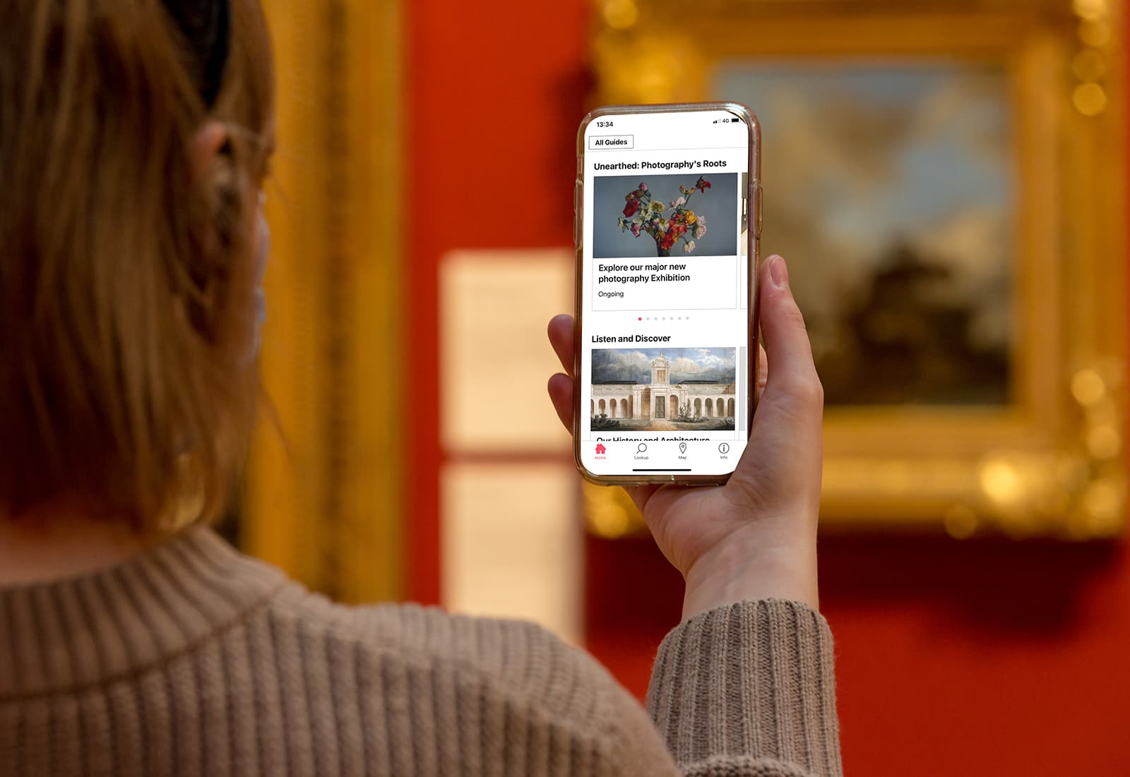 Explore your favorite galleries, take a deeper dive into select works of art, listen to audio guides by curators, and much more.