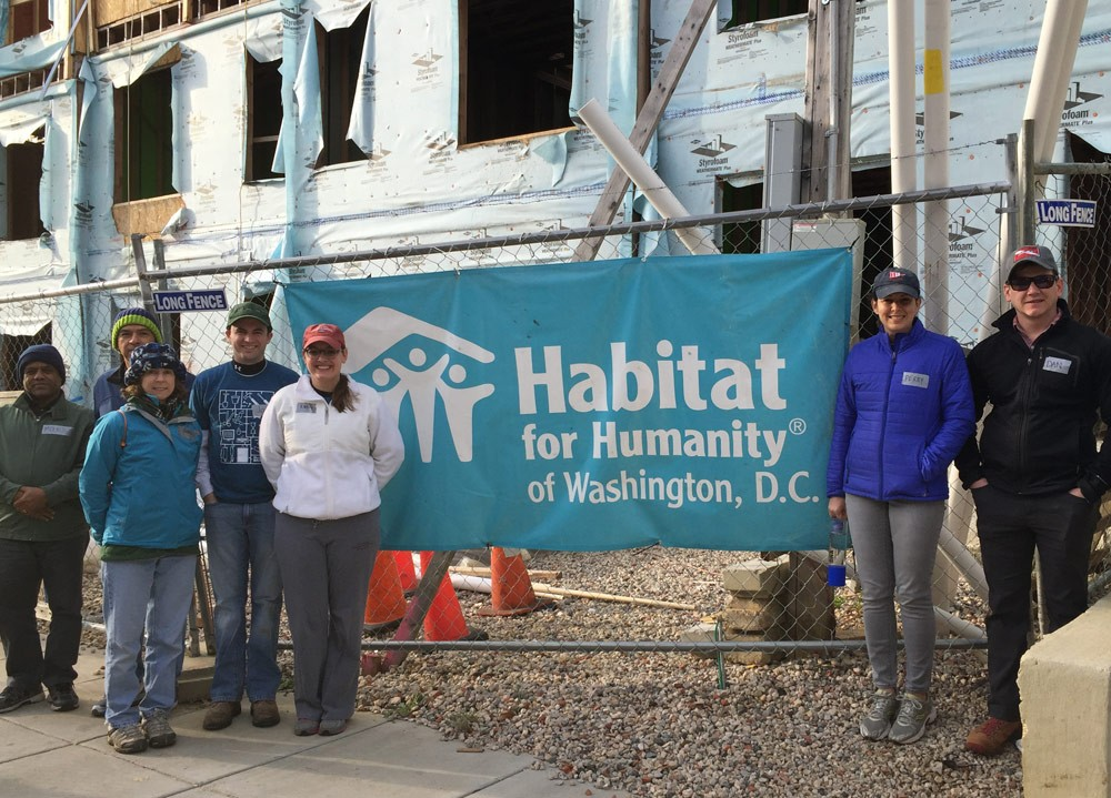 Bloomberg Industry Group Habitat for Humanity