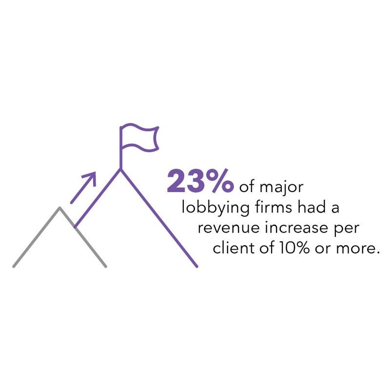 Revenue increase infographic