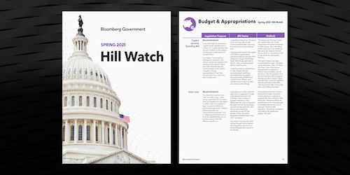 Bloomberg Government Hill Watch