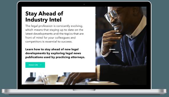 Law school program industry intel