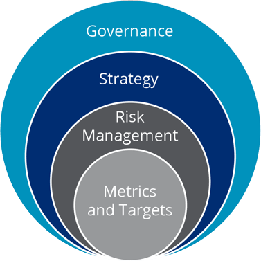 metrics and ttargets, risk management, strategy, governance