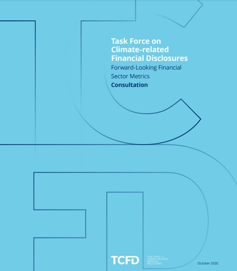 Forward-looking Financial Sector Metrics Consultation Cover
