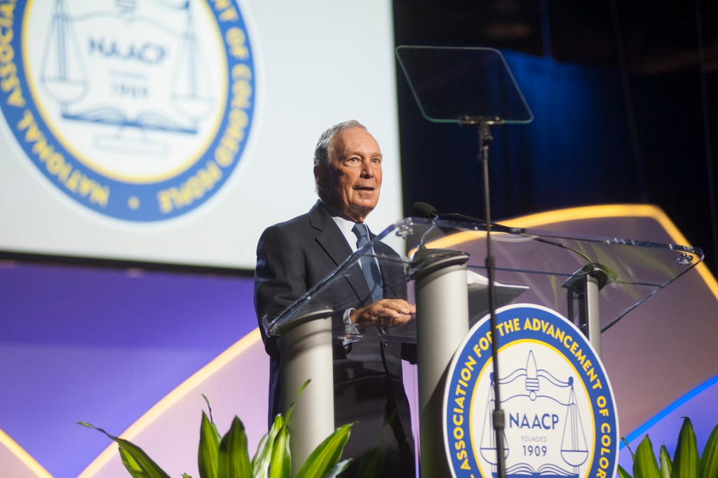 Mike Bloomberg at 2019 NAACP Convention