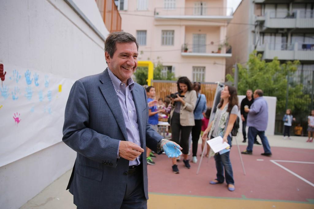 Athens Mayor Kaminis