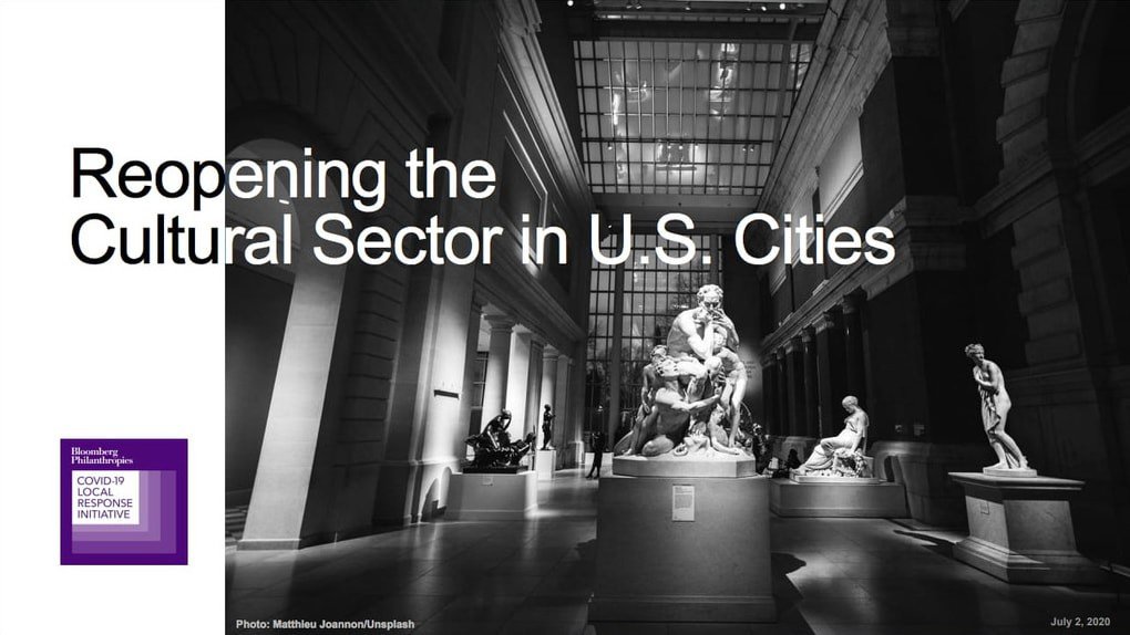 Reopening the Cultural Sector in U.S. Cities