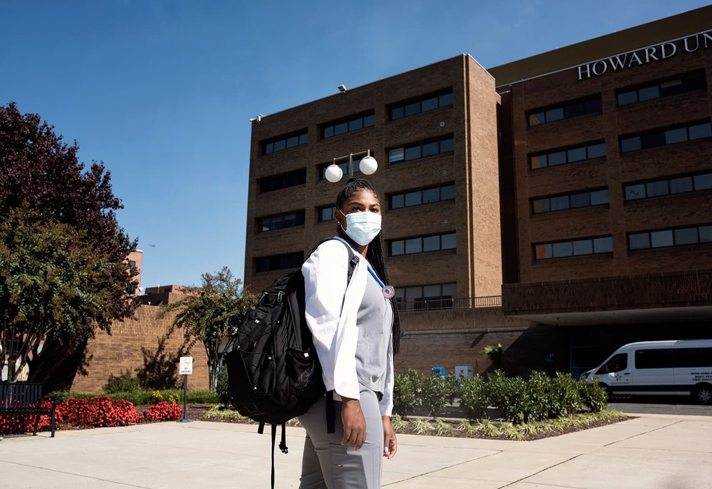 Howard University College of Medicine student Micah Brown is one of the many future doctors who will have had their futures changed by a $100 million commitment to the United States' four historically Black medical schools.