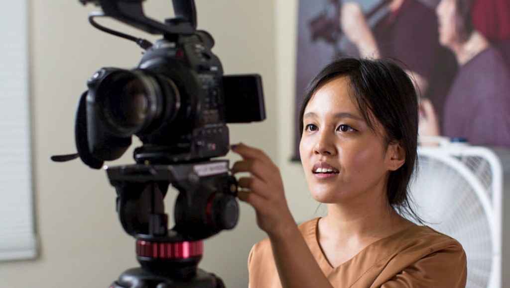 BAYCAT works to increase access to visual storytelling skills and jobs for young people from backgrounds underrepresented in the industry. (Photo credit: Nadia Andreini and BAYCAT)