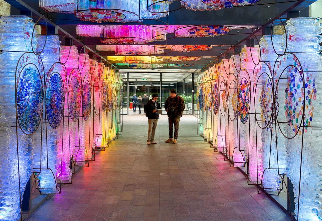 "Supported by Bloomberg Philanthropies, ""Light City Baltimore"" is one of the first large-scale, international light and innovation festivals in the United States."