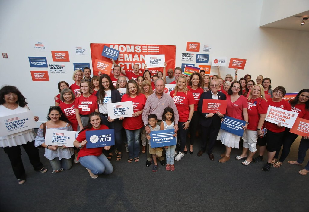 Mike Bloomberg joins Everytown and Moms Demand Action advocates in Las Vegas, NV for a local rally.