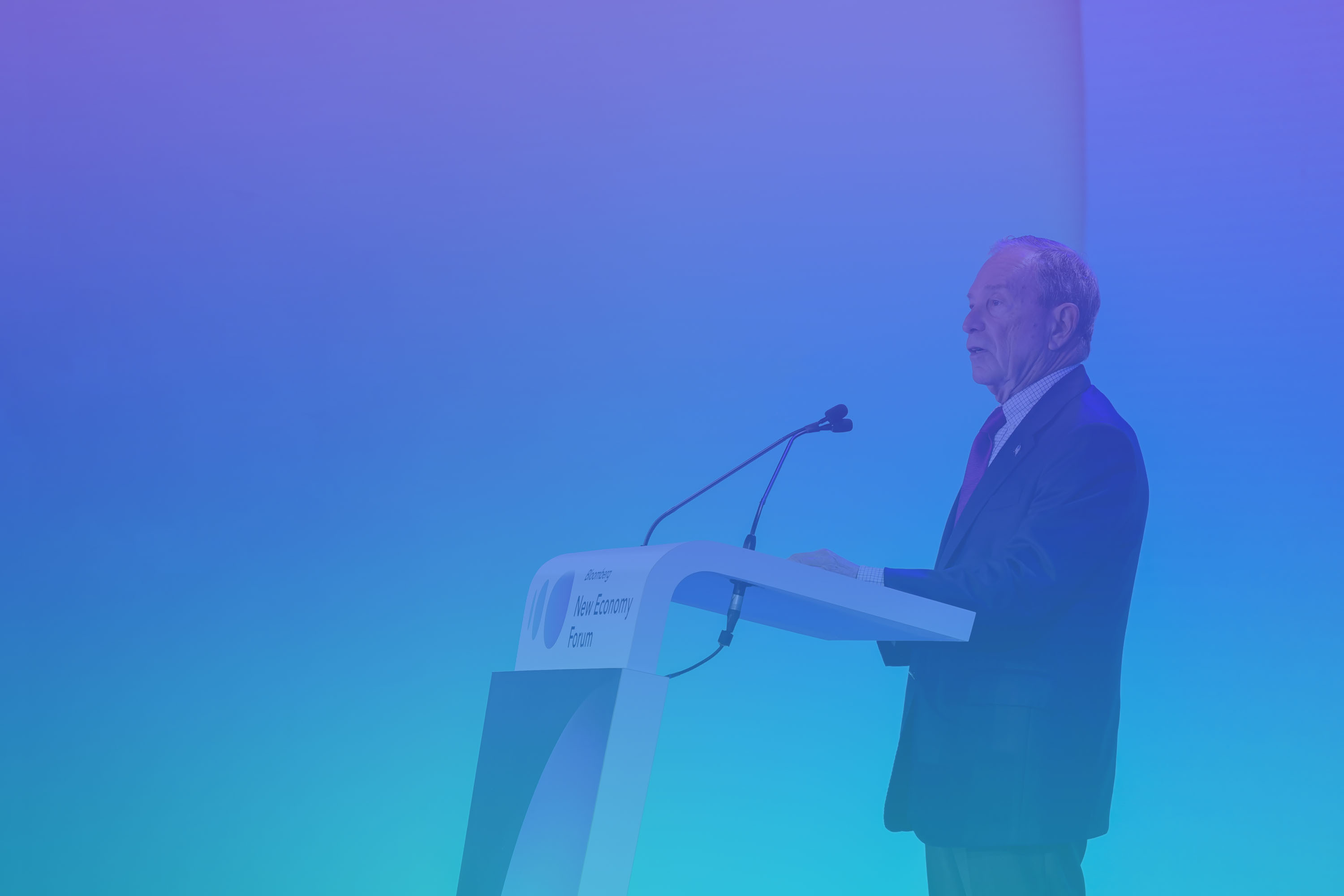Michael R. Bloomberg to bring together public and private sectors for a constructive global dialogue