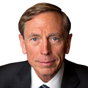 General David H.  Petraeus  (U.S. Army, Ret.)